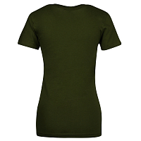 Thrasher GIRLS MAG LOGO SHORT SLEEVE Olive