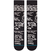 Stance ANTHEM SAMO IS DEAD BLACK