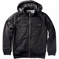 Nixon ADMIRAL QUILTED JACKET BLACK
