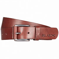 Billabong CURVA LEATHER BELT CHOCOLATE