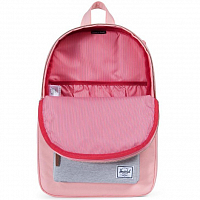 Herschel Settlement Mid-Volume Peach/Light Grey Crosshatch