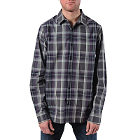 Nixon LA PAZ L/S SHIRT Dark Gray