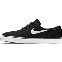 Nike ZOOM STEFAN JANOSKI CNVS BLACK/WHITE-GUM LIGHT BROWN
