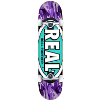REAL SKATEBOARDS NEW AWOL OVALS 7,75