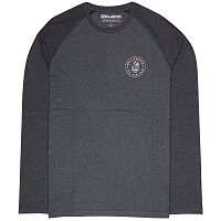 Billabong CALI BAJA TEE LS DARK GREY HEATH