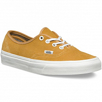 Vans Authentic (Varsity Suede) amber gold
