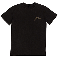 Rusty GOTHIC R SHORT SLEEVE TEE BLACK