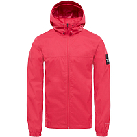 The North Face M MOUNTAIN Q JKT RASPBERRY RED/GREEN GLOW-SAIL (ZCX)