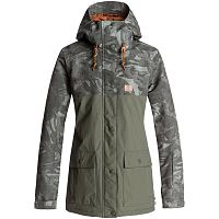 DC CRUISER JKT J SNJT BRITISH CAMO GREEN WOMEN