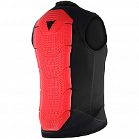 Dainese GILET MANIS 13 BLACK/RED-FLUO