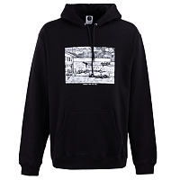 POLAR STRAIGHT FROM THE HOOD HOODIE BLACK