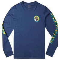 RVCA CREATURE LS SEATTLE BLUE