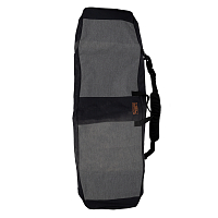 Ronix Battalion Padded Board Bag HEATHER CHARCOAL / ORANGE