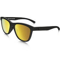 Oakley MOONLIGHTER MATTE BLACK/24K IRIDIUM POLARIZED