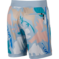 Nike M NK SB DRY PRINT COURT SHORT LT ARMORY BLUE/PHOTO BLUE/WHITE