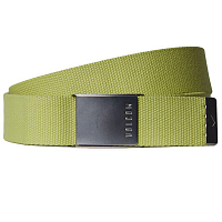 Volcom CASE WEB BELT SHADOW LIME
