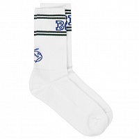 Polar BIG BOY SOCKS WHITE/GREEN/BLUE