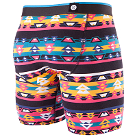 Stance THE BOXER BRIEF SOUTHWESTERN BOXER BRIEF BLACK