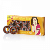 Enjoi ABEC 7 TEENISH BEARING ORANGE
