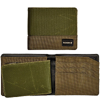 Nixon ORIGAMI SATELLITE BIG BILL ID COIN WALLET Olive