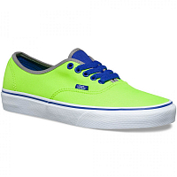 Vans Authentic (Brite) neon green/blue