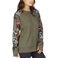 Burton WB OAK CREW FOREST NIGHT HEATHER