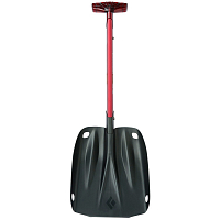 Black Diamond TRANSFER 3 SHOVEL FIRE RED
