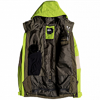 Quiksilver SYCAMORE JK M SNJT GRAPE LEAF