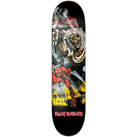 Jart THE NUMBER OF THE BEST HC IRON MAIDEN DECK 8,12''