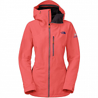 The North Face W FUSE BRIGDNE 3 JKT RADIANT ORANGE
