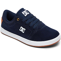 DC CRISIS B SHOE NAVY/WHITE