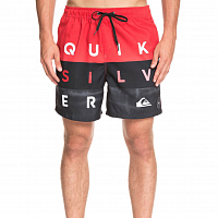 Quiksilver WORDBLOCKVL17 M JAMV HIGH RISK RED