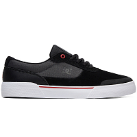 DC SWITCH PLUS S M SHOE BLACK/ATHLETIC RED/WHITE