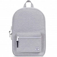 Herschel Settlement Mid-Volume Light Grey Crosshatch