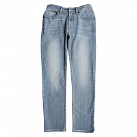 DC WORKER STRAIGHT B PANT LIGHT INDIGO BLEACH