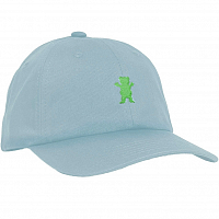 Grizzly OG BEAR STRAPBACK Baby Blue / Neon Yellow