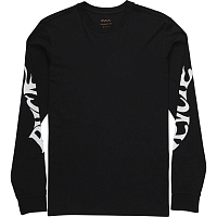 RVCA SCULL DRAGON LS BLACK