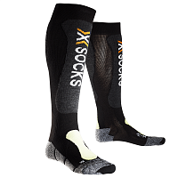 X-Socks XS SKIING LIGHT BLACK/YELLOW FLUO