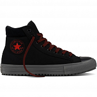 CONVERSE CHUCK TAYLOR ALL STAR CONVERSE BOOT PC BLACK/CHARCOAL GREY/SIGNAL RED