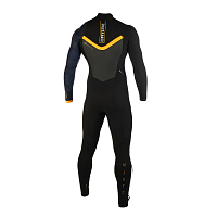 Mystic MAJESTIC FULLSUIT 4/3MM ZIPFREE BLACK