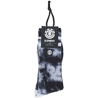 Element CLOUDY SOCKS BLACK TIE DYE