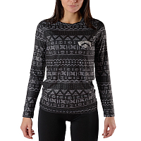 Billabong WARM UP TECH TEE WANDERING BLACK