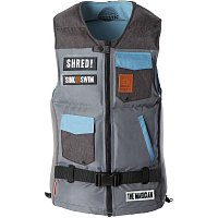 Mystic THE MAGICIAN WAKEBOARD VEST GREY