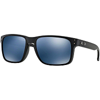 Oakley HOLBROOK MATTE BLACK/ICE IRIDIUM POLARIZED