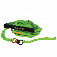 Ronix SPINNER PU SYN. SURF ROPE LIME