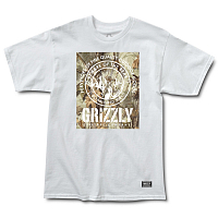 Grizzly TERRIAN S/S TEE White