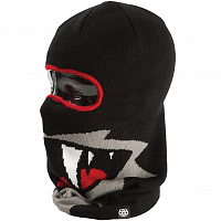 686 SNAGGLE DAD FULL FACE BEANIE BLACK