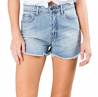 Rusty YESTERDAYS HIGH DENIM SHORT DUST BLUE