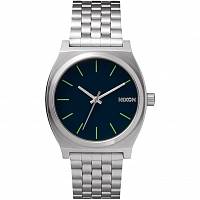 Nixon Time Teller Midnight Blue/Volt Green