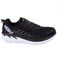 HOKA M CLIFTON 4 BLACK/WHITE